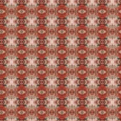 Red Texture Painted Damask
