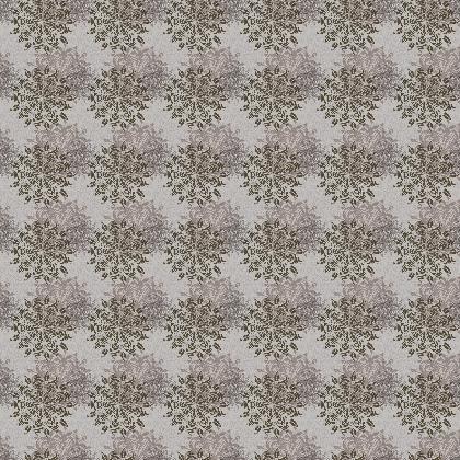 Mandala (Greys) - Luxury Fabric