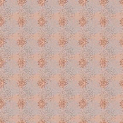 Mandala (Cheeky Peach) - Luxury Fabric