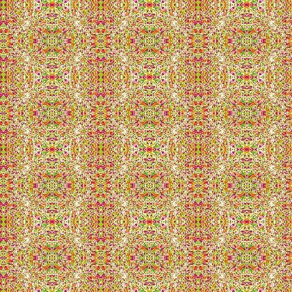 Kaleidofly Fabric Pattern II
