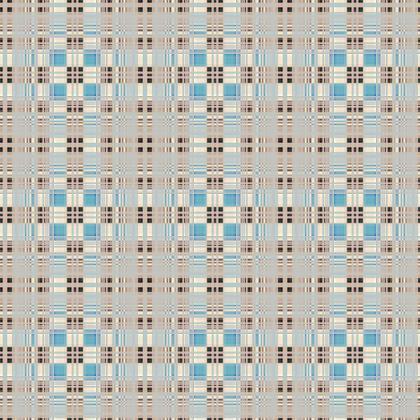 Fabric Printing Plaid Pattern 11