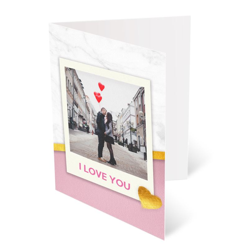 Foto felicitación Polaroid