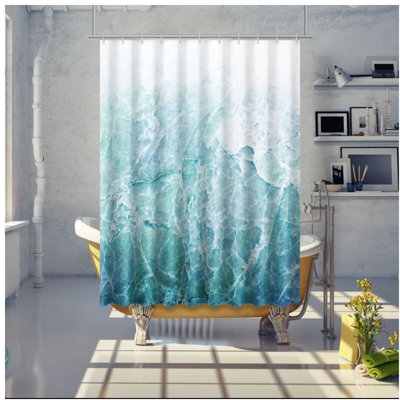Shower Curtain Sea