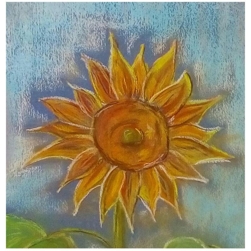 Sunflower pastel Handbags