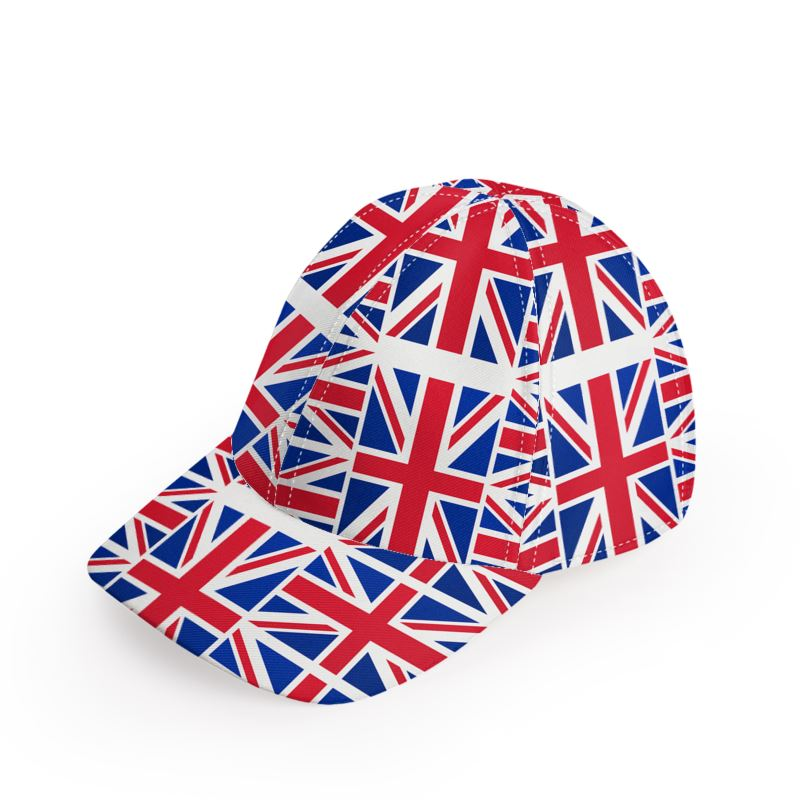 b6341f439d5 British Union Jack Flag Baseball Cap