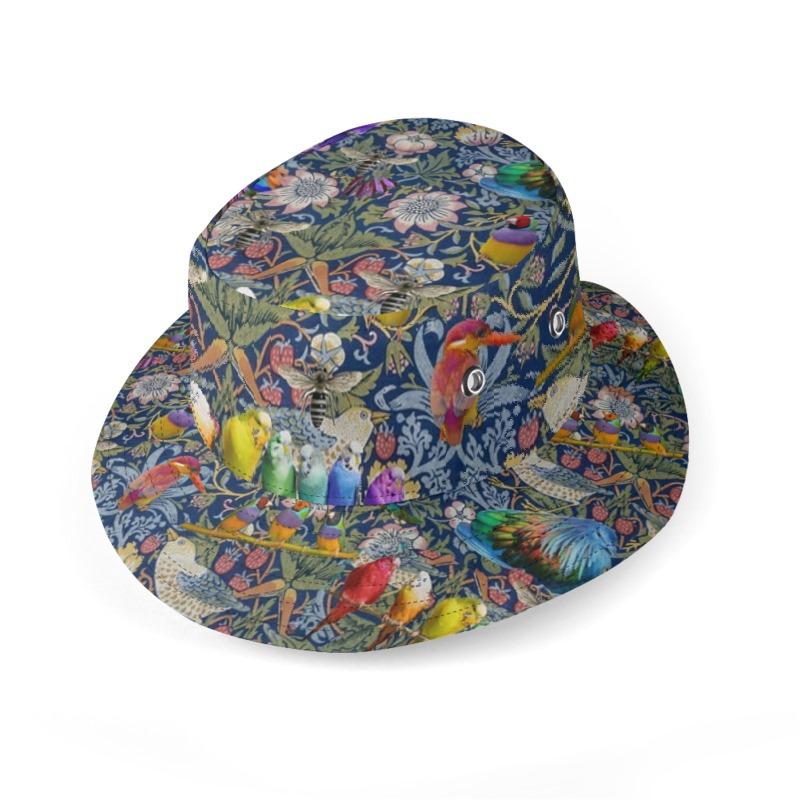 William s Birds Bucket Hat 426f3e3a449