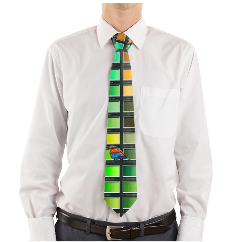 Colour Chart Little Bird Tie