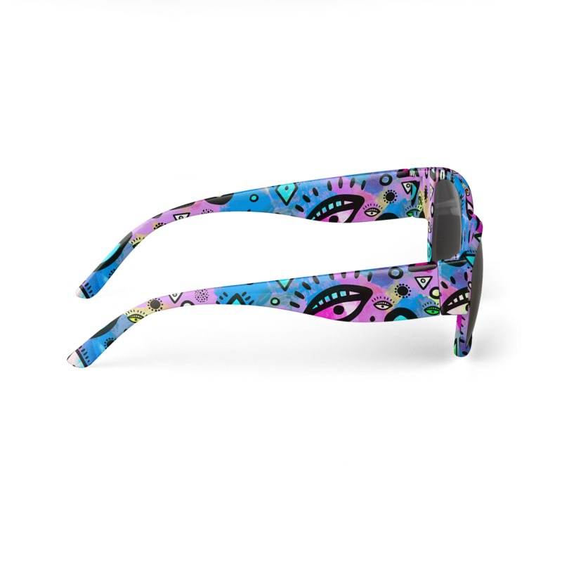 Tribal Pattern Hippy Shake - Sunglasses