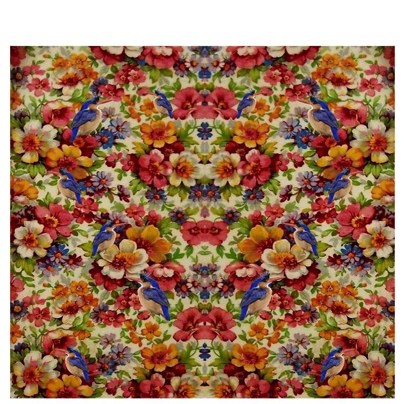 ' Kingfisher Chintz Kimono