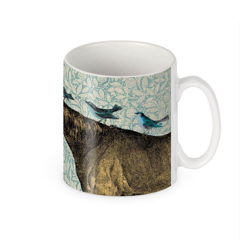 'Horse and Birds' kitchenware mug