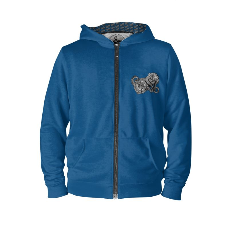 Octopus and Compass Tattoo Hoodie