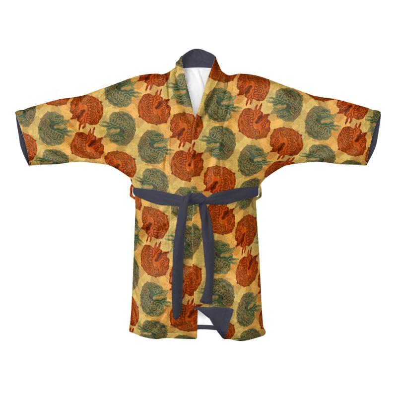Imperial Lion Kimono
