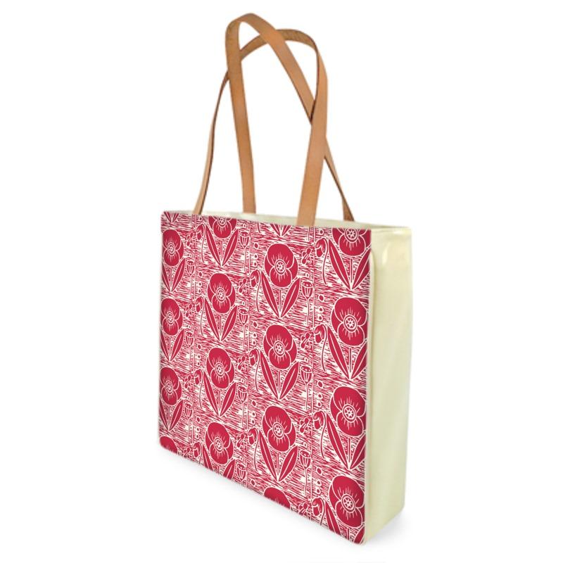Shopper Bags - Field poppy