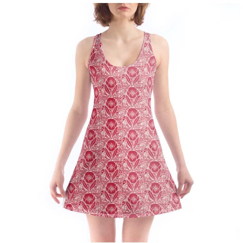 Beach Dress - Field poppy