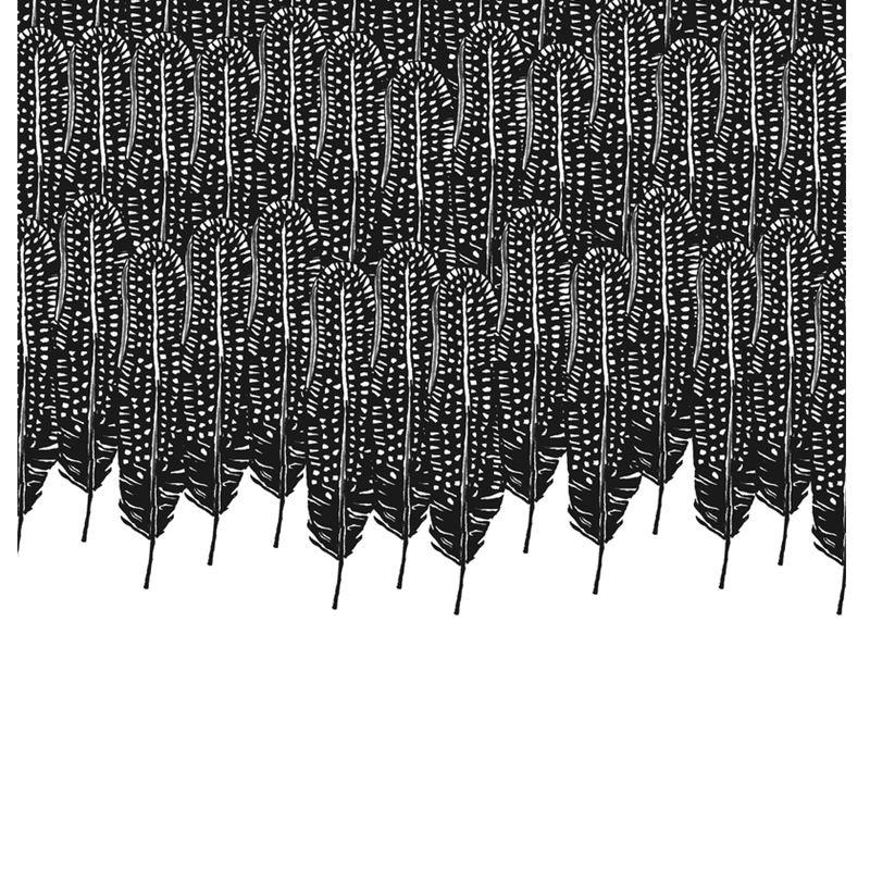 fc228baf65 Black White Feather Wilderness Clutch Bag. Bcbgmaxazria Catarina Feather  Trimmed Clutch