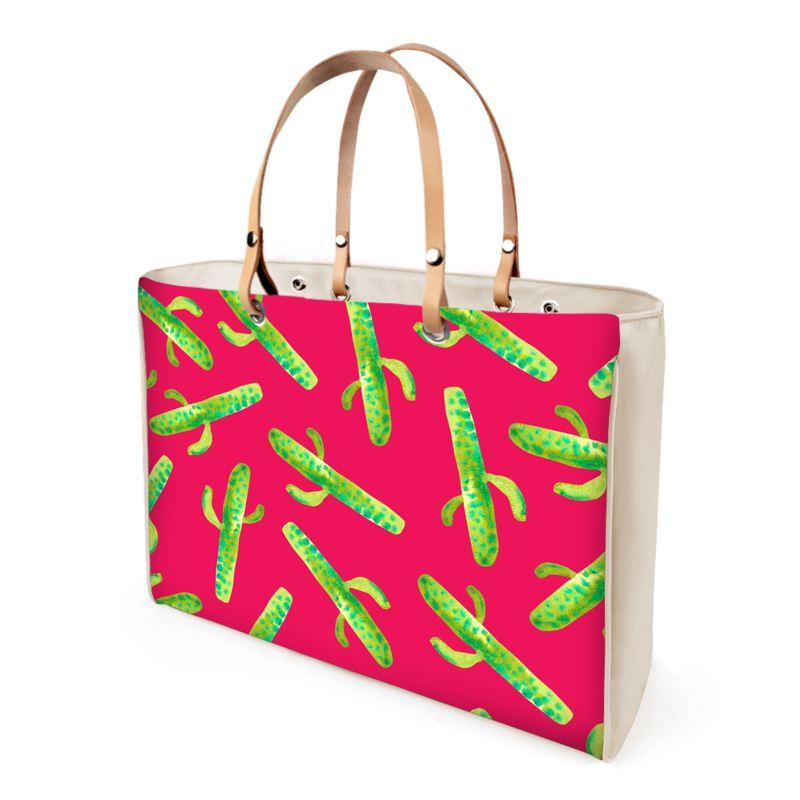 Hot Mess Of Cacti Handbags