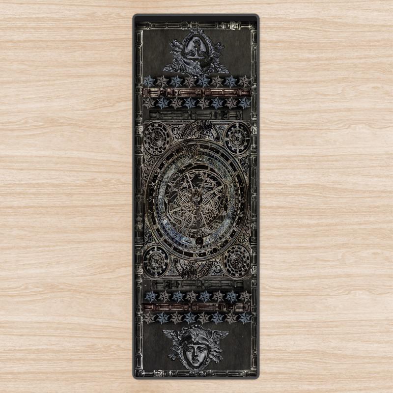 Dark Astrolabe Yoga Mat