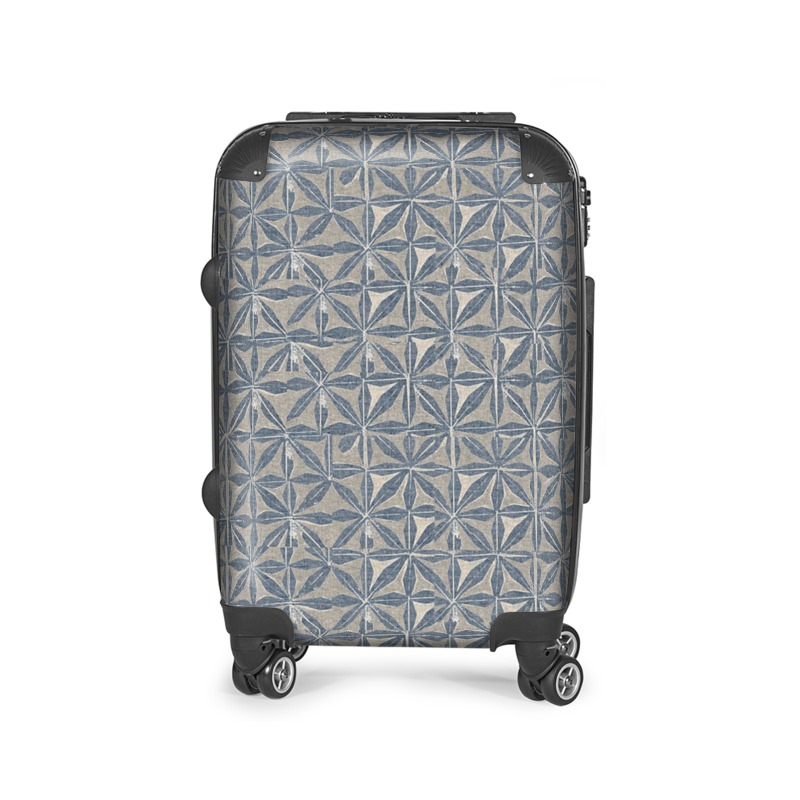 Nara Print Suitcase