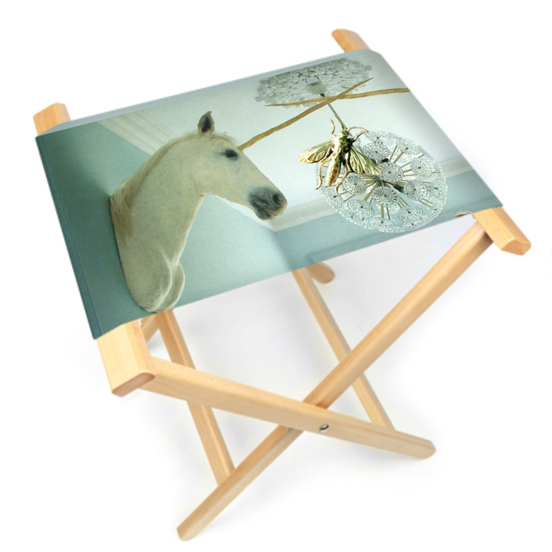 Dragonfly Folding Stool Chair