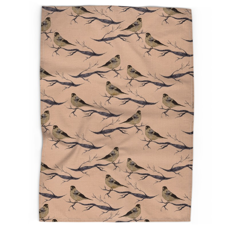 Woodland Bird Tea Towels