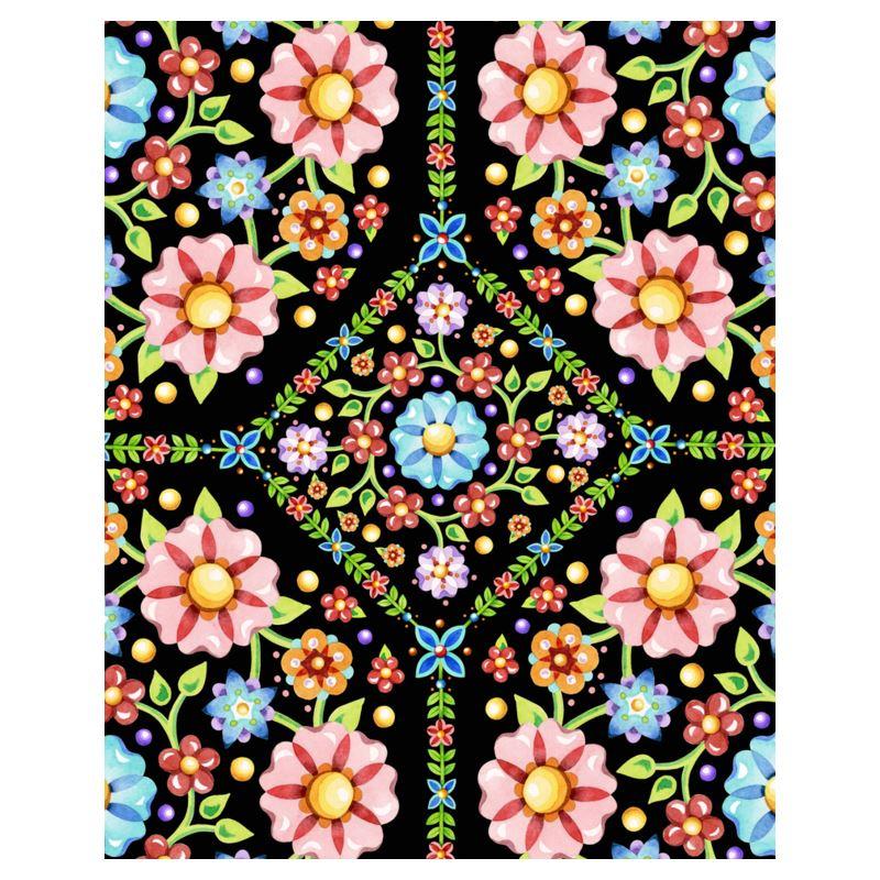 Millefiori Folkloric Floral Hoodie