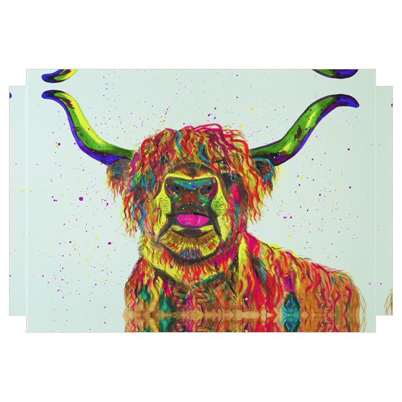 Canvas Wall Art Boris The Highland Cow