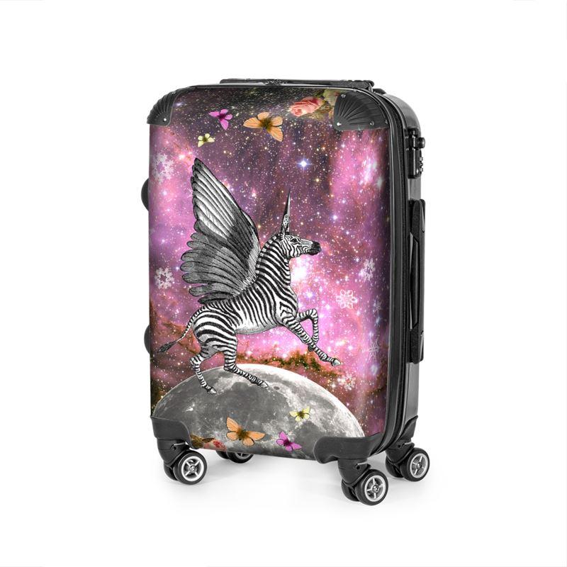 Unicorn Zebra Pegacorn Suitcase