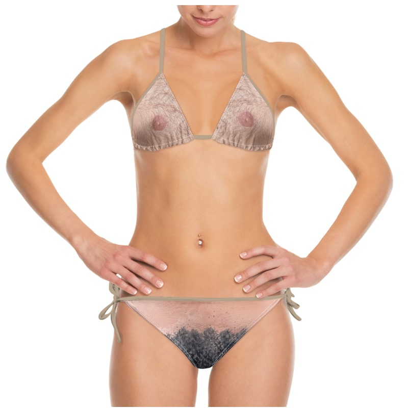 Bikini hairy photos
