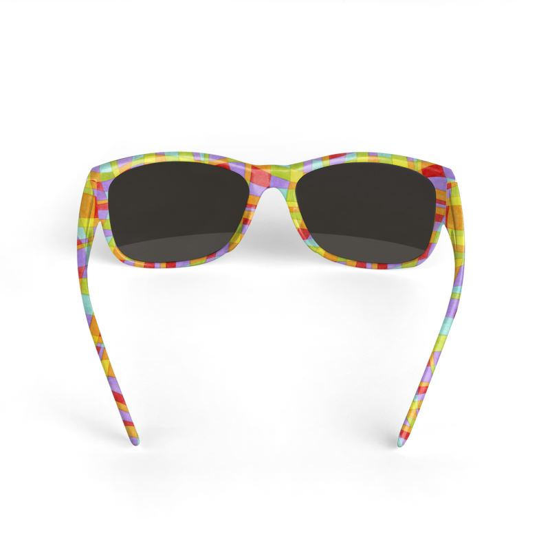 Psychedelic Rainbow Sunglasses