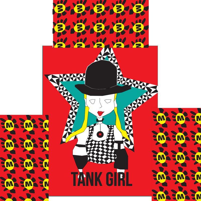 Skater Dress Tank Girl