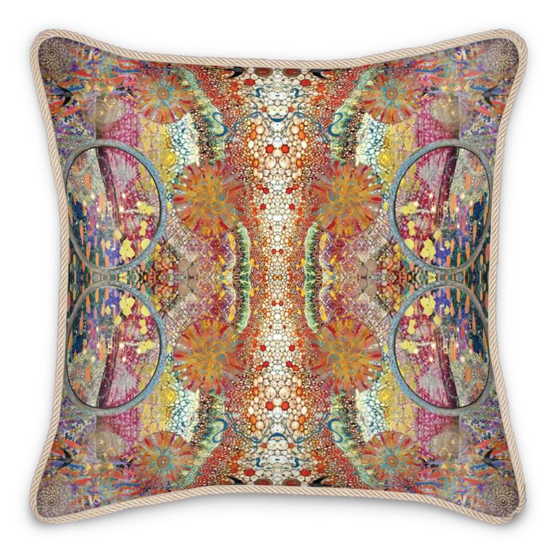 New Perspectives Silk Cushion