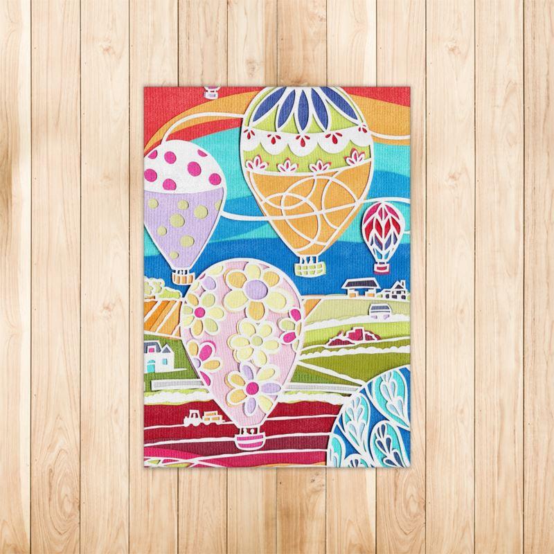 Hot Air Balloon Fiesta Rugs
