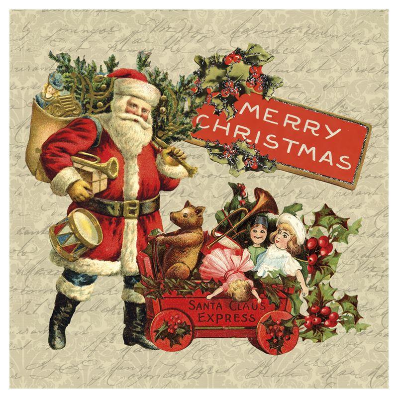 Vintage Christmas Coasters