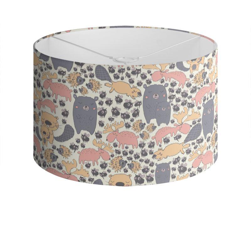 82668 Scandinavian Critters Patterned Drum Lamp Shade 0 Jpeg Cache 7
