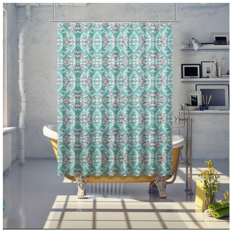 83366 Bright Light Blue Shower Curtain 0jpegcache8