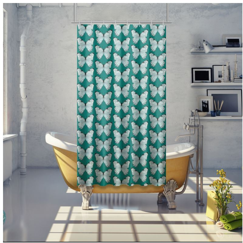 Beautiful Butterflies Shower Curtain By Lucinda Kidney