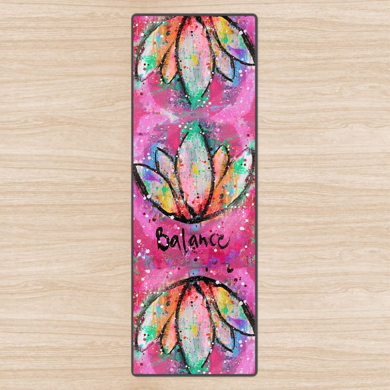 Balance Lotus Yoga Mat
