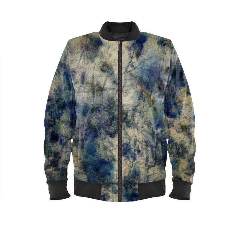 Natural Dye II Bomber Jacket
