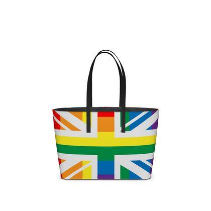 LGBTQ+ England UK flag kika tote