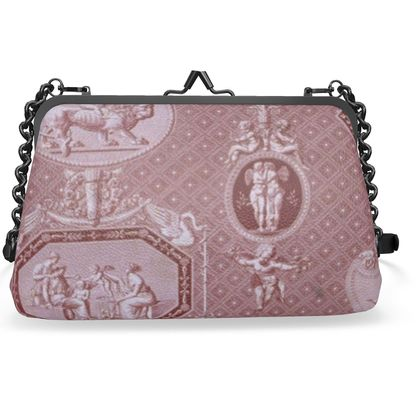 Napa Leather Flat Frame Bag The Merchant of Love