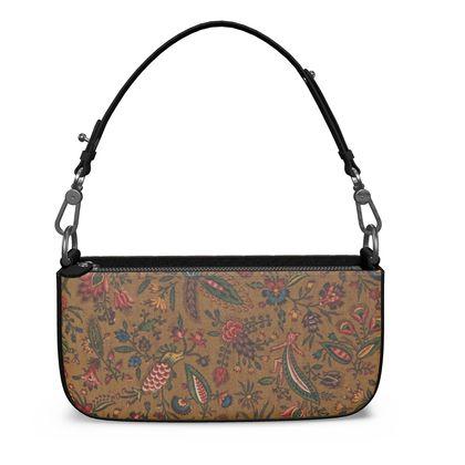 Napa Leather Zip Box Bag The Conquecigrues