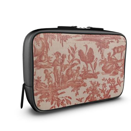 Napa Leather Large Wash Bag Four Parts of the World