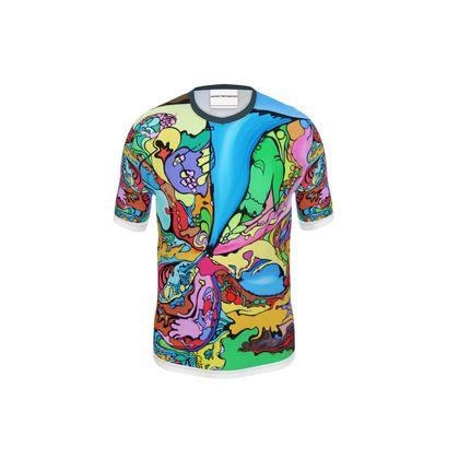 "T-shirt ""Melted Fantasia"""
