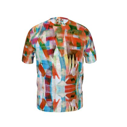 Mens T-Shirt Astract Painting 4