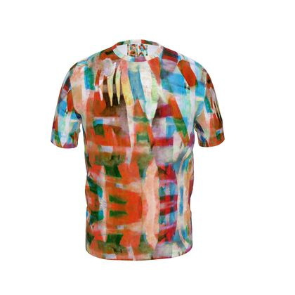 Mens T-Shirt Astract Painting 3
