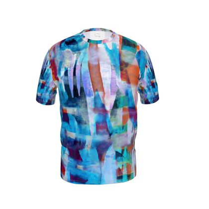 Mens T-Shirt Astract Painting 5