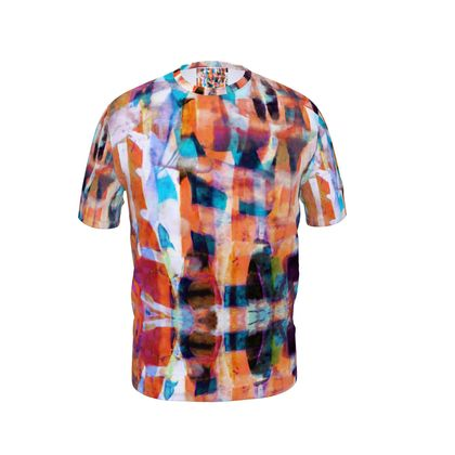 Mens T-Shirt Astract Painting 6