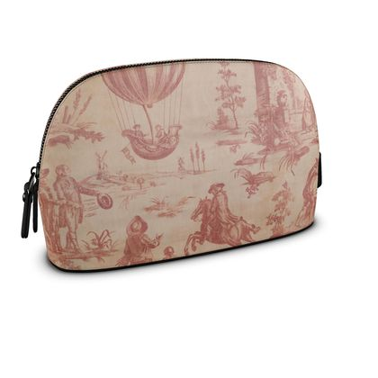 Premium Nappa Leather Make Up Bag The Ballon of Gonesse