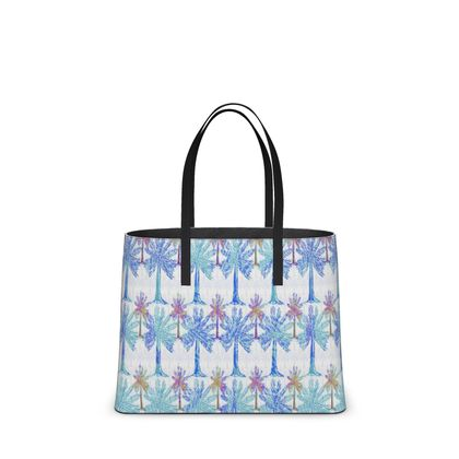 Oasis Collection in blue Kika Tote