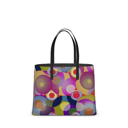Moon Collection on red Kika Tote